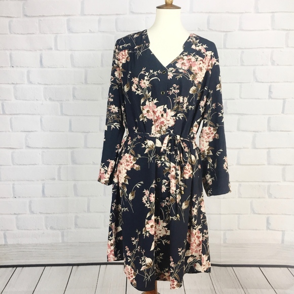bb3d9b5102 Stitch Fix 41 HAWTHORN Cristen Shirt Dress Button